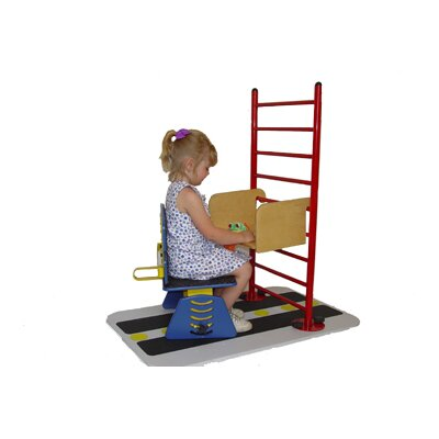 REAL Design Rise and Shine Ladder and Walk-On-Base