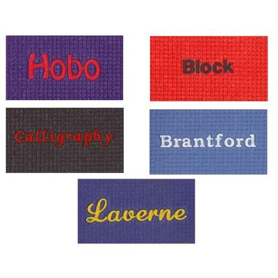 BuyMATS Inc. Deluxe Yoga Personalized Contemporary Mat with Embroidery
