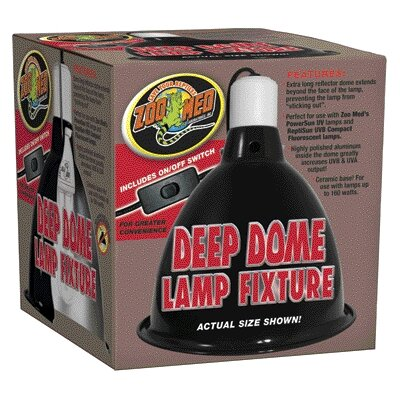 Zoo Med Lamp Clamp Reptile Deep Dome