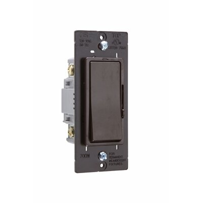 Legrand Harmony 703W Decorator Dimmer Single Pole/Three Way in Black