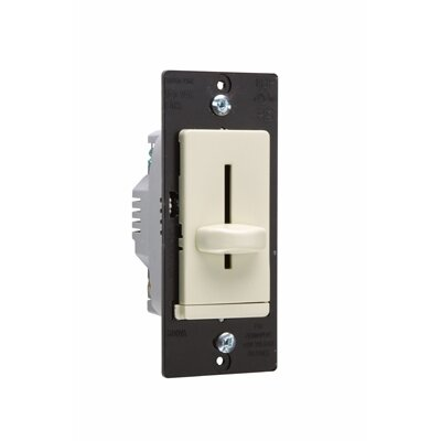 Legrand TradeMaster 600VA Decorator Magnetic Low Voltage Single Pole Slide Dimmer in Ivory