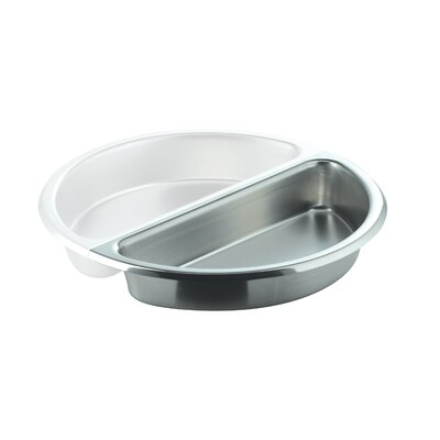 SMART Buffet Ware Large Round 1 / 2 Stainless Steel Food Pan