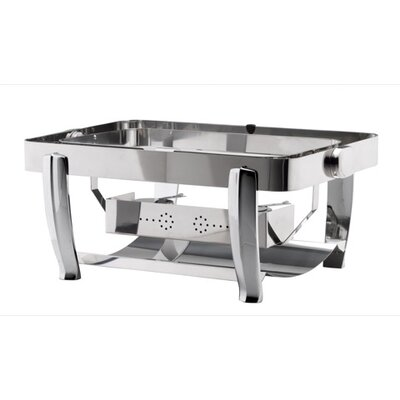 SMART Buffet Ware Oblong Stainless Steel Chafing Dish Windguard