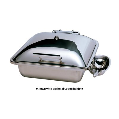 """SMART Buffet Ware """"Save on Additional Items""""-Square Chafing Dish with Stainless Steel Lid"""