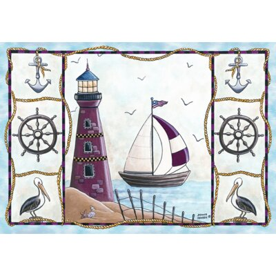 Custom Printed Rugs Home Accents Lighthouse Novelty Rug