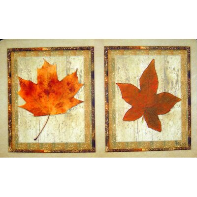 Custom Printed Rugs Maple Leaves Doormat
