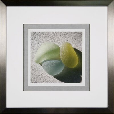 Phoenix Galleries Sea Glass 3 Framed Print