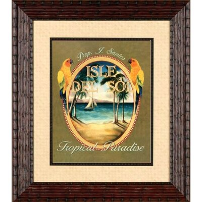 Phoenix Galleries Isle Del Sol Framed Print