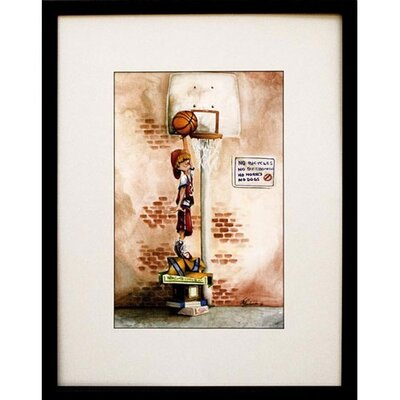 Phoenix Galleries Slam Dunk Framed Print