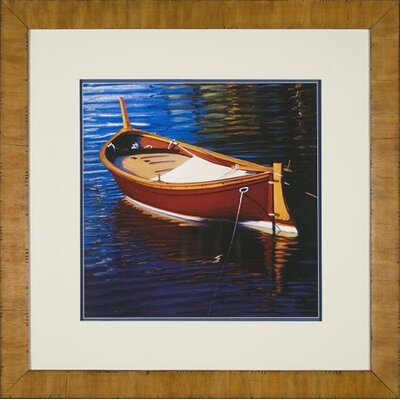Phoenix Galleries Red Boat Framed Print