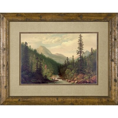 Mt. Fishing Framed Print