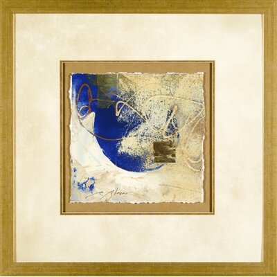 Phoenix Galleries Blue Gold 1 Framed Print