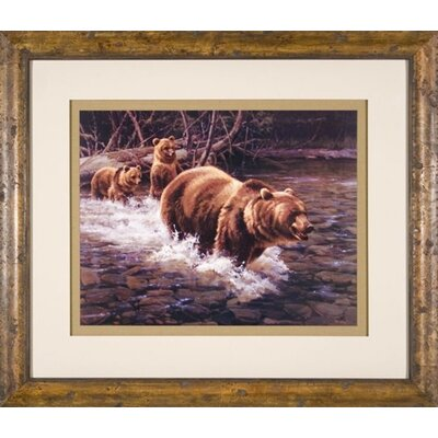Phoenix Galleries Rush Framed Print