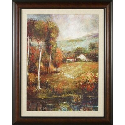 Change of Season Canvas Transfer Framed Print