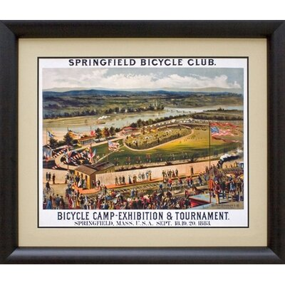 Phoenix Galleries Bicycle Club Framed Print