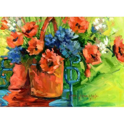 Phoenix Galleries Watering Can on Canvas