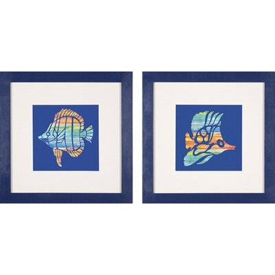 Phoenix Galleries Tropical Fish Framed Prints