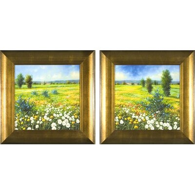 Summer Meadow Framed Prints