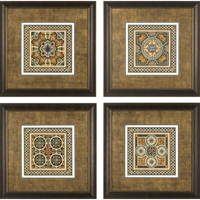 Textile Motif Framed Prints