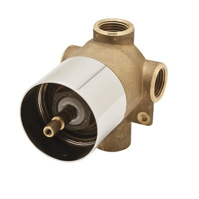 Rohl Four Port Three Direction Diverter with Sleeve Ceramic Disc Cartridge