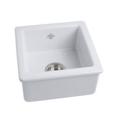 Rohl Single Bowl Undermount or Drop in Fireclay Kitchen or Prep Sink