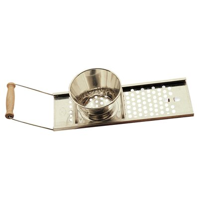 Sliding Spaetzel Maker with Wooden Handle