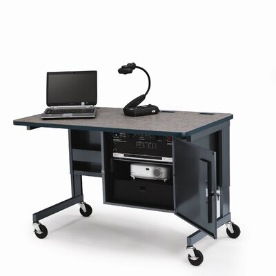 Bretford Manufacturing Inc Height Adjustable Mobile Multimedia Rackmount Workstation