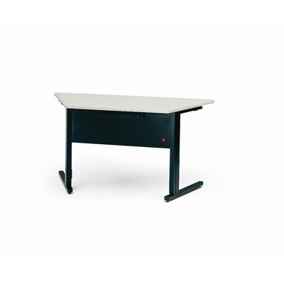 Bretford Manufacturing Inc Folding C-Leg Trapezoid Table