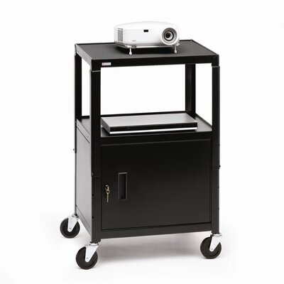 Bretford Manufacturing Inc UL Listed Adjustable Cabinet Cart
