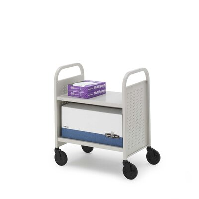 Bretford Manufacturing Inc Contemporary Flat Shelf Booktruck