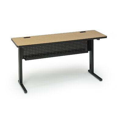 "Bretford Manufacturing Inc KR Rectangular 72"" x 18"" Folding Training Table"