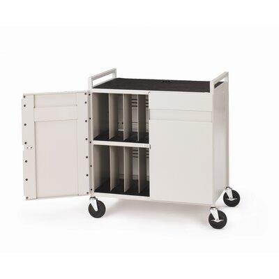 Bretford Manufacturing Inc 15-Compartment Tech-Guard Laptop Storage Cart
