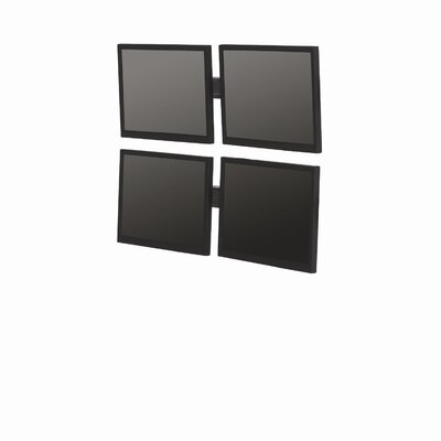 "Bretford Manufacturing Inc Double-Level Multiple Displays Small Flat Panel Wall Mounts (Up to 22"")"