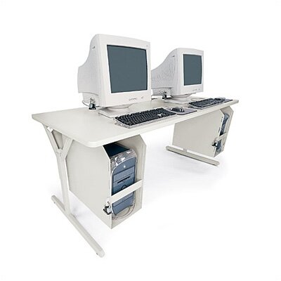 Bretford Manufacturing Inc Tech-Guard Work Center Computer Table For Securing G4 Macs and Tower PCs