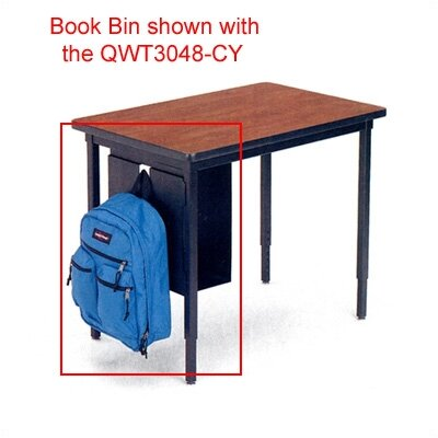 "Bretford Manufacturing Inc Quattro 17.38"" H x 7.88"" W Book Bin Left Hand"