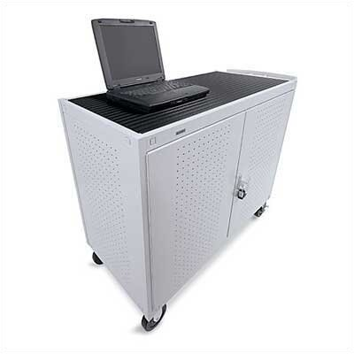 Bretford Manufacturing Inc 18 Laptop Welded Computer Cart (fully assembled)