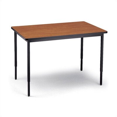 "Bretford Manufacturing Inc 48"" Wide Rectangle Quattro Work and Utility Table"