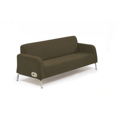 Bretford Manufacturing Inc Motiv Two Seat Arm Sofa Left and Right Power