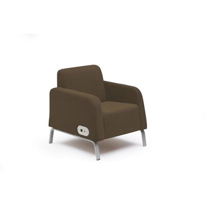 Bretford Manufacturing Inc Motiv Arm Chair with Power on Left