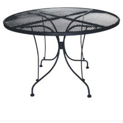 DC America Charleston Round Wrought Iron Table