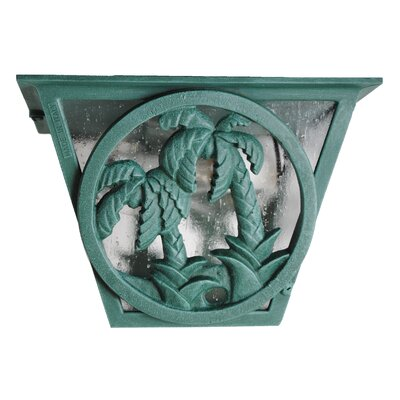 Melissa Lighting Americana Palm Tree Series Flush Mount