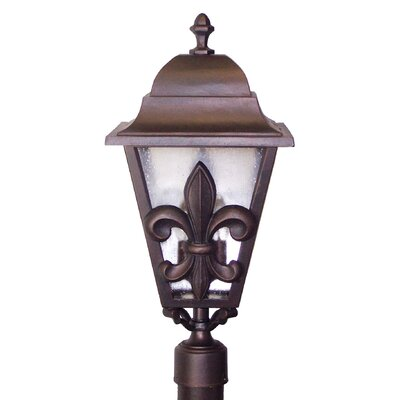 "Melissa Lighting Americana Fleur De Lis Series 29"" Post Lantern"