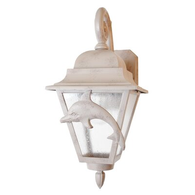 "Melissa Lighting Americana Dolphin Series 18"" Wall Lantern"