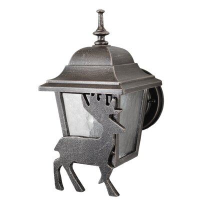 Melissa Lighting Americana Deer Series Wall Lantern