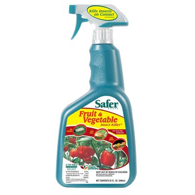 Safer Brand 32 oz. Safer's Fruit and Vegetable Insect Killer