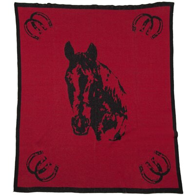 In2Green Eco Designer Horse Throw Blanket