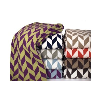In2Green Eco Chevron Throw Blanket