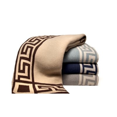 In2Green Eco Greek Key Blanket