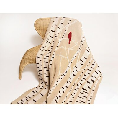 Eco Birch Throw Blanket