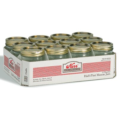 Alltrista Regular Mouth Canning Jar (Set of 12)
